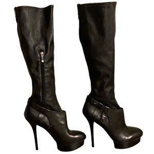Guess by Marciano Leather Boots - Women's Size 10